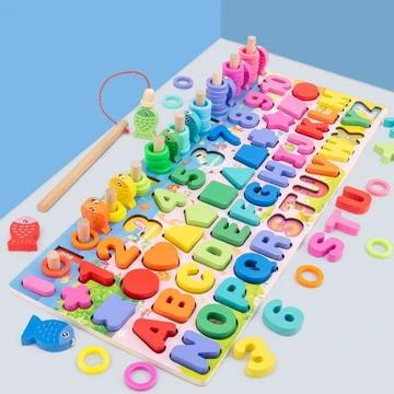 Full Cognitive Skill-Based Puzzle Board