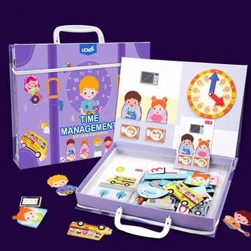 Routine Educational Puzzle Box